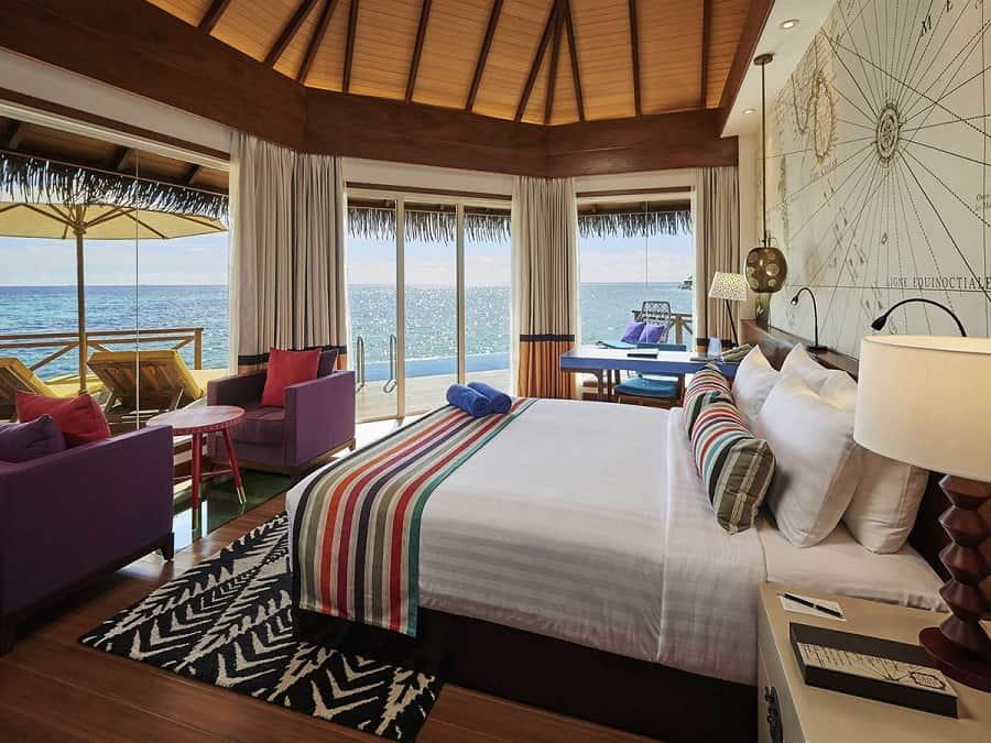 Goodlux hotel lighting project -Mercure Maldives Kooddoo Resort 2