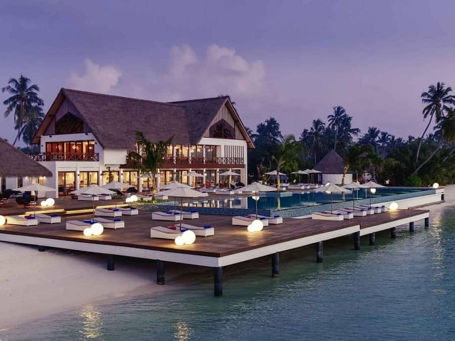 Goodlux hotel lighting project -Mercure Maldives Kooddoo Resort 5