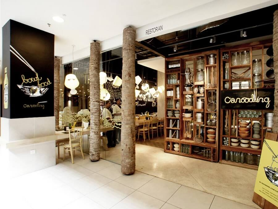 Goodlux custom lighting case -Canoodling Restaurant Malaysia 1