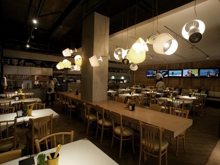 Goodlux custom lighting case -Canoodling Restaurant Malaysia 2