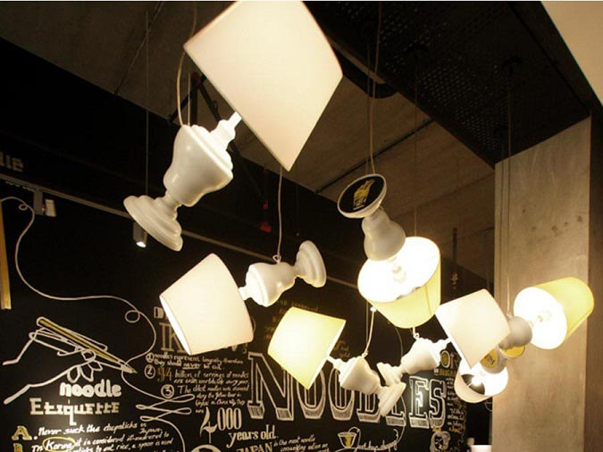 Goodlux custom lighting case -Canoodling Restaurant Malaysia 4