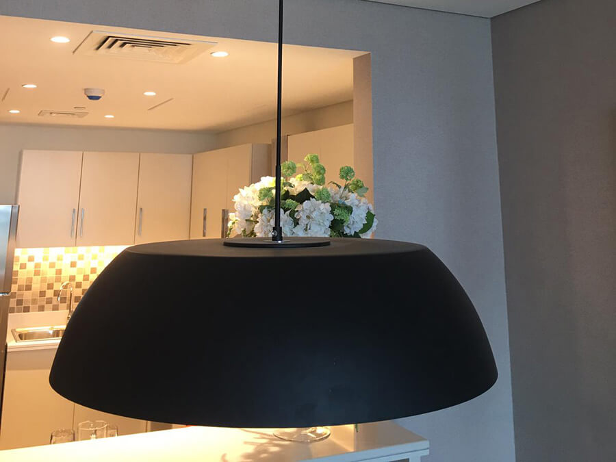 Goodlux custom lighting case -Qatar residential project 4
