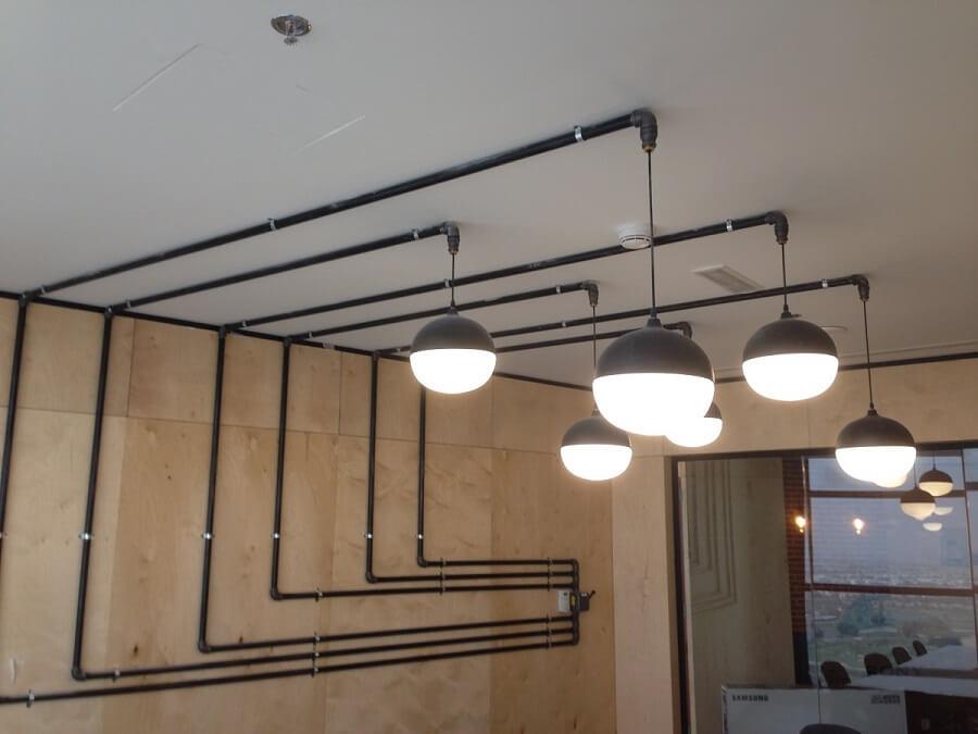 Goodlux custom lighting project - Dubai iflix office 1