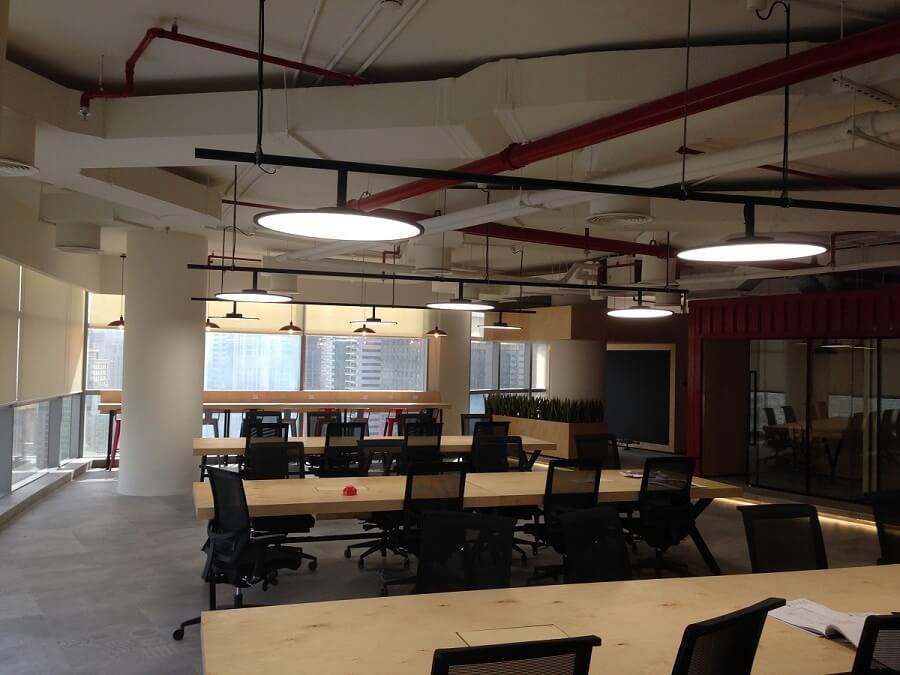 Goodlux custom lighting project - Dubai iflix office 2