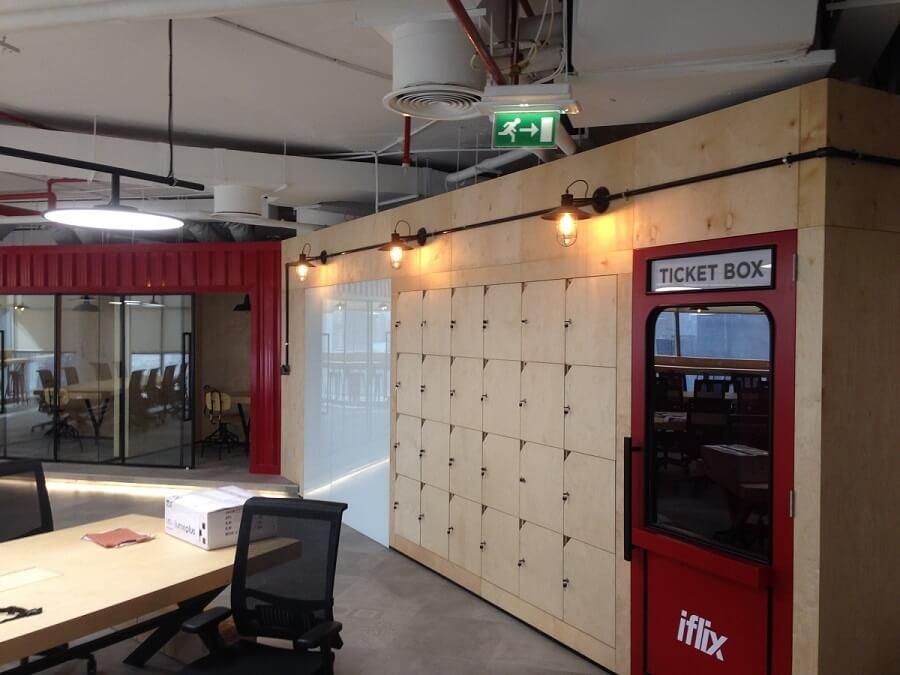 Goodlux custom lighting project - Dubai iflix office 3