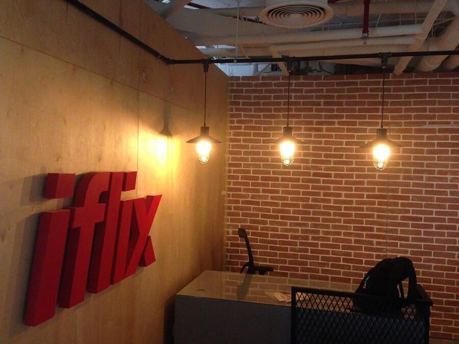 Goodlux custom lighting project - Dubai iflix office 4