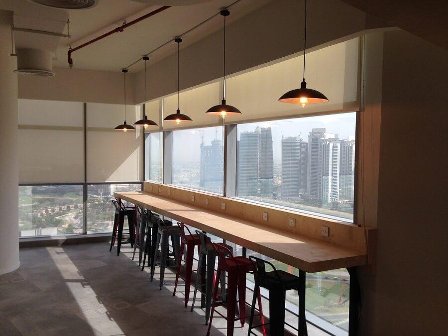 Goodlux custom lighting project - Dubai iflix office 5