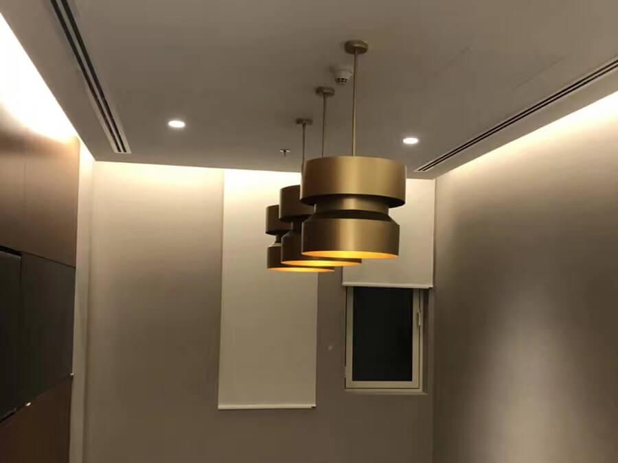 Goodlux custom lighting project -Dubai office 10