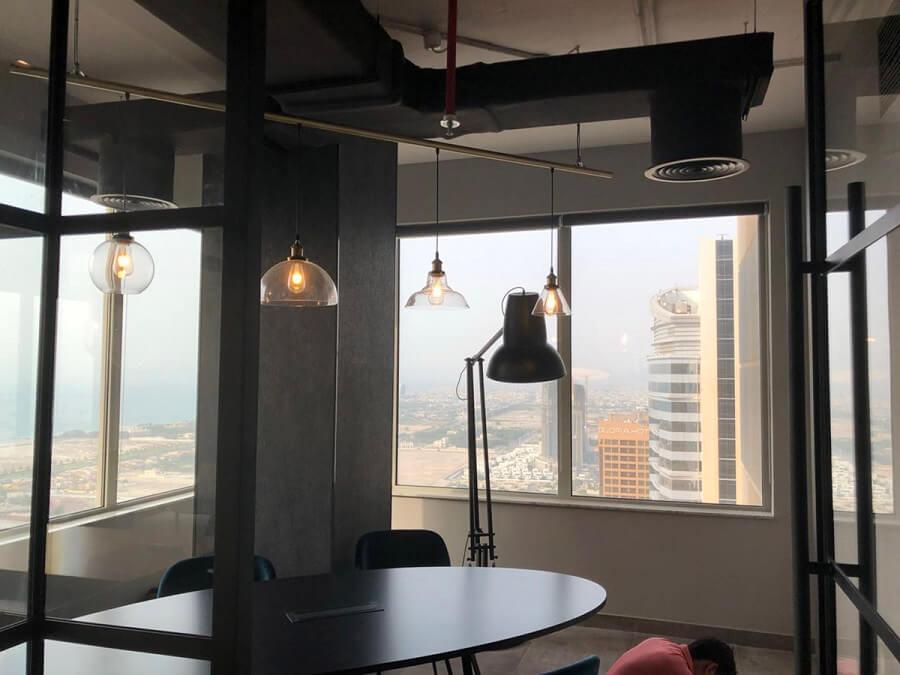Goodlux custom lighting project -Dubai office 13