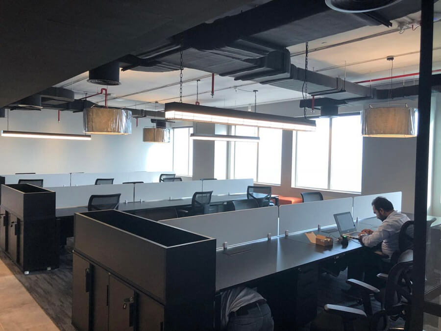 Goodlux custom lighting project -Dubai office 15