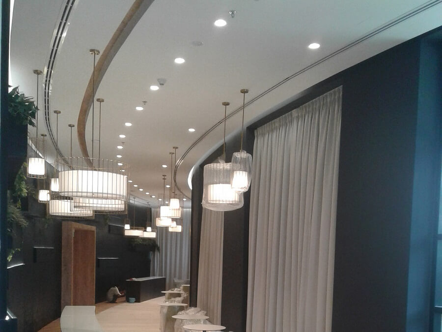 Goodlux custom lighting project -Dubai office 3