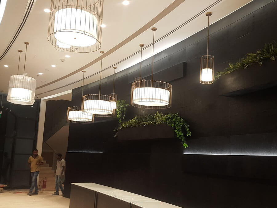 Goodlux custom lighting project -Dubai office 4
