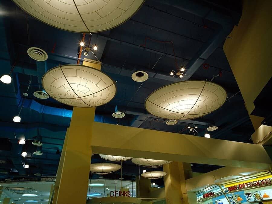 Goodlux custom lighting project -Food court in Malaysia