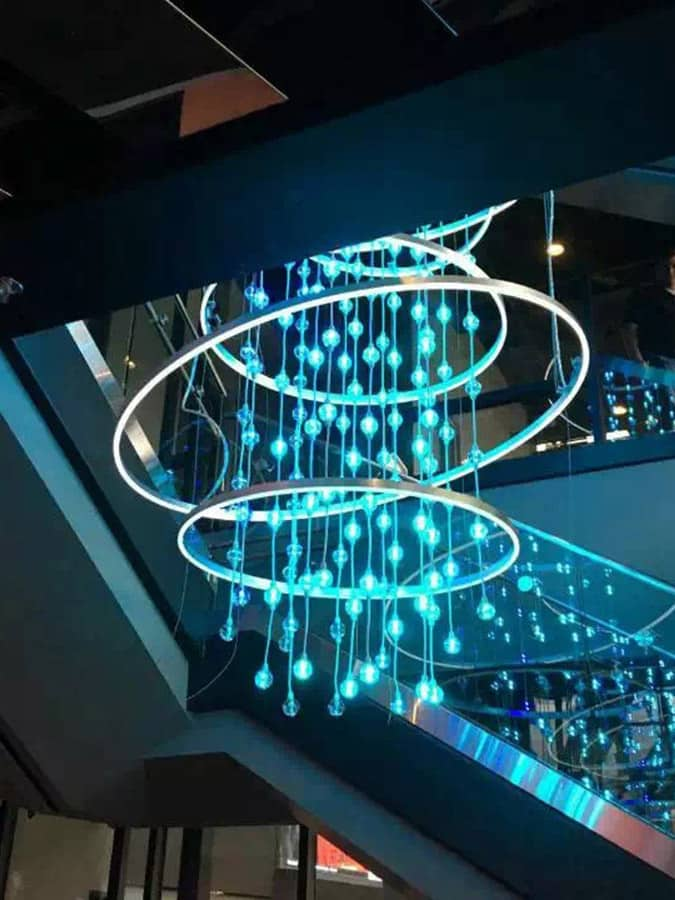 Goodlux custom lighting project -Las Vegas Casino 1