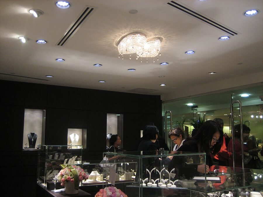 Goodlux custom lighting project -Singapore Jewels @ Bee 1
