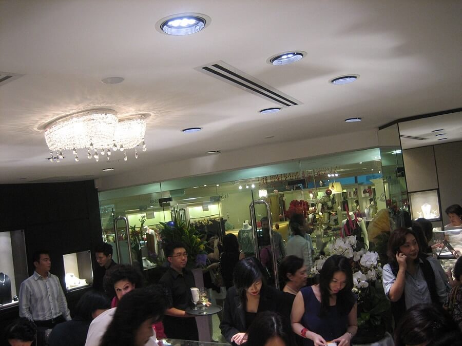 Goodlux custom lighting project -Singapore Jewels @ Bee 2