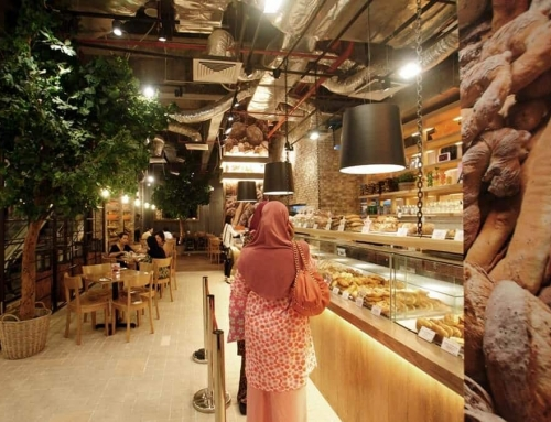 Malaysia THE LOAF bread shop project
