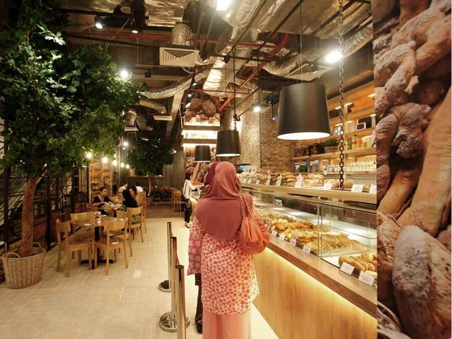 Goodlux custom lighting project -THE LOAF Bread shop in Malaysia 1