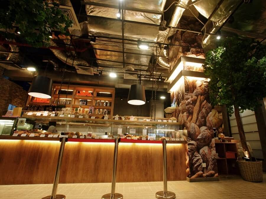 Goodlux custom lighting project -THE LOAF Bread shop in Malaysia 4