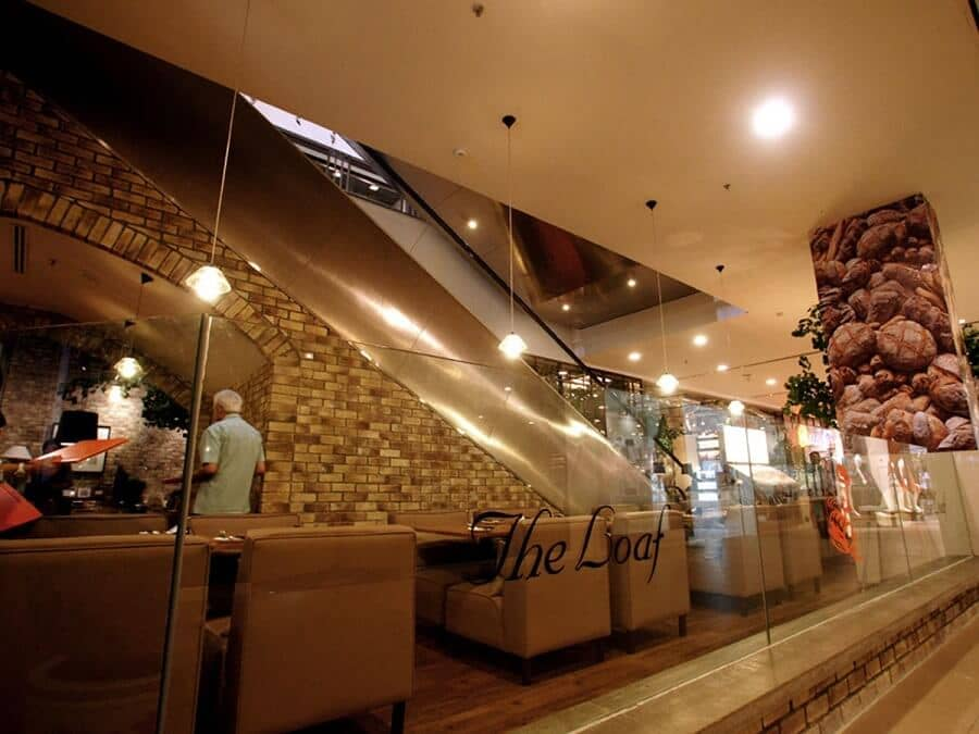 Goodlux custom lighting project-THE LOAF Bread shop in Malaysia 5