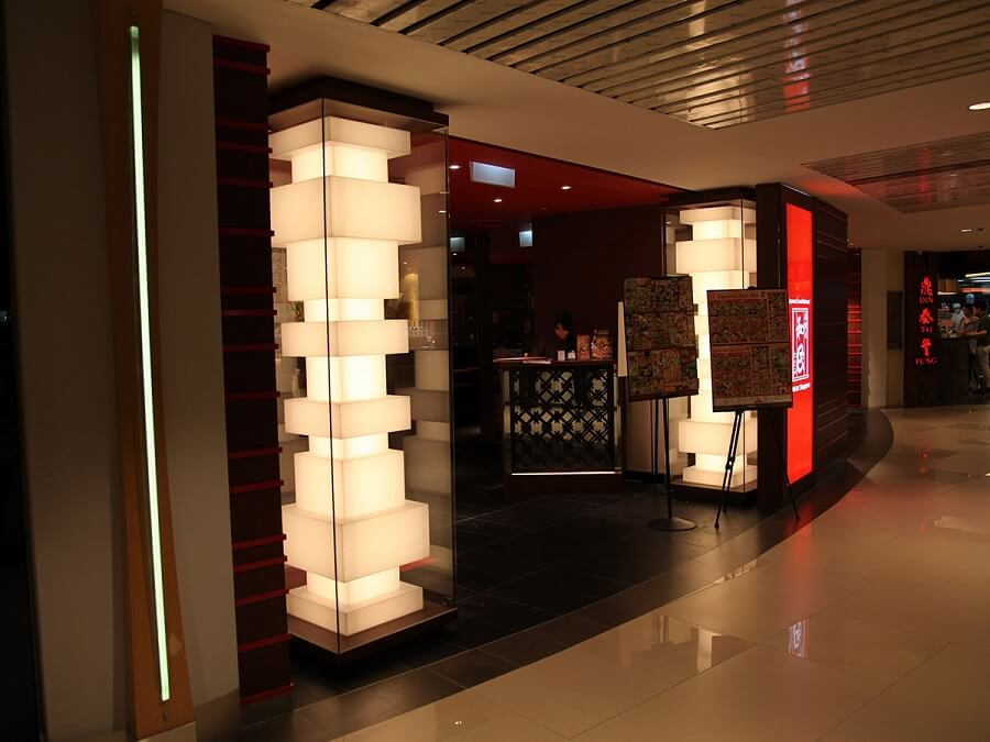 Goodlux custom lighting project -Watami Restaurant in Singapore 1