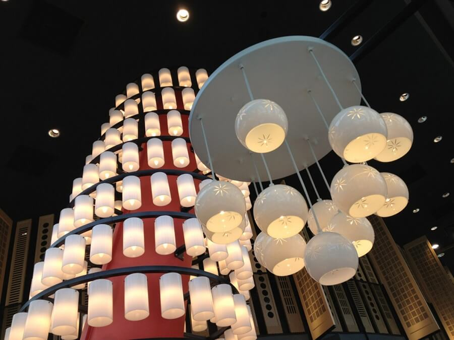 Goodlux custom lighting project -Watami Restaurant in Singapore 3