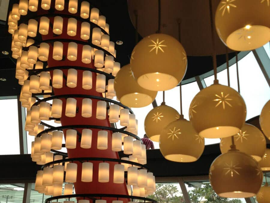 Goodlux custom lighting project -Watami Restaurant in Singapore 4