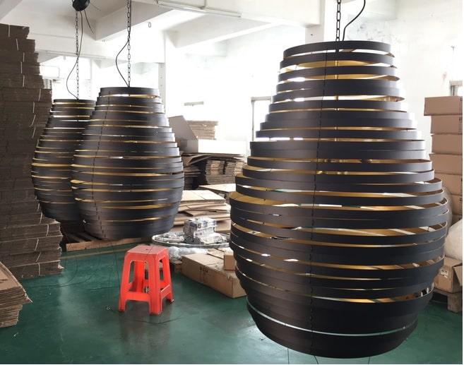 Flexible MOQ for custom lighting production