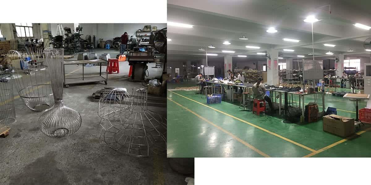 Custom lighting manufacturing capacity