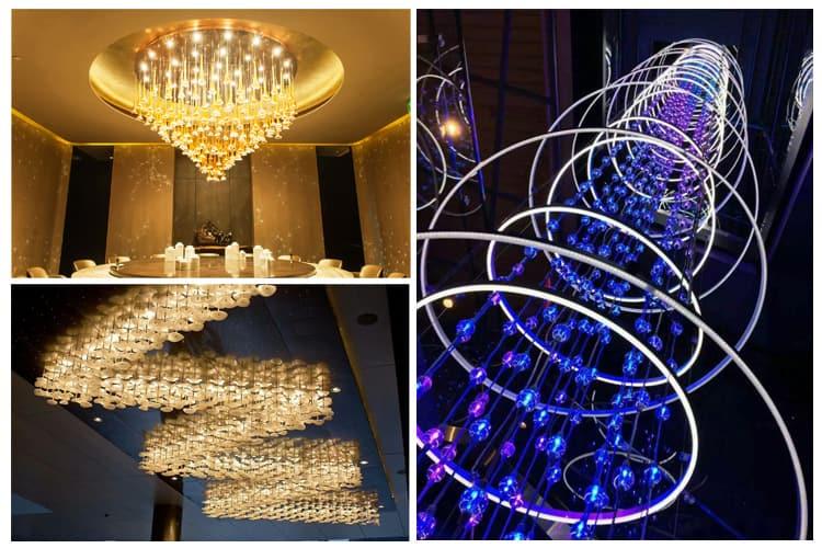 where you need a custom chandelier