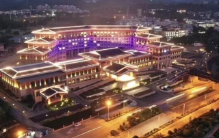 Goodlux Hospitality Project Custom Lighting for Wyndham Resort, Baise China