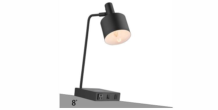 hotel table lamp in slope testing tilt testing