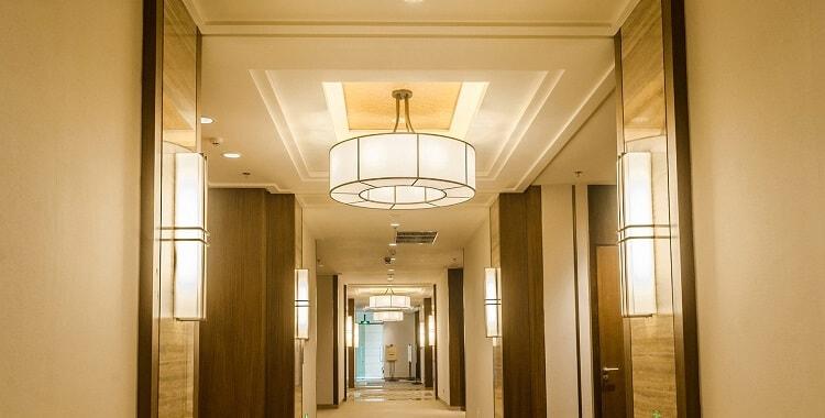 simple type custom wall light for hotel corridor