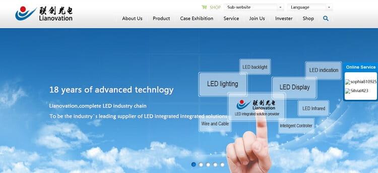 12. Jiangxi Lainchuang Optoelectronic Technology Co.,Ltd