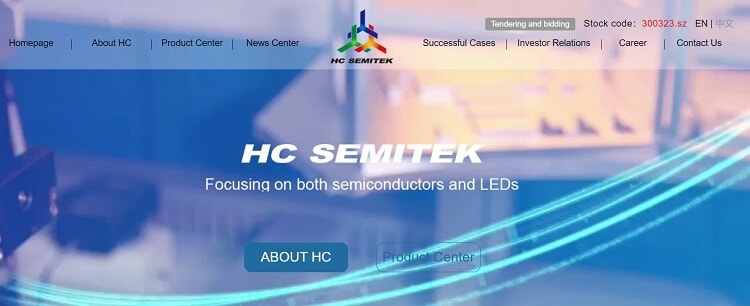 18. HC Semitek Corporation