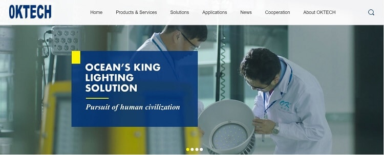 21. Ocean's King Lighting Science & Technology Co., Ltd