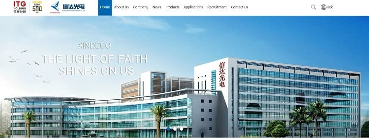 27. Xiamen Xinda Optoelectronics Technology Co., Ltd