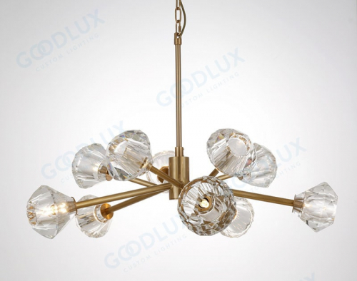 34.5inch Contemporary chandelier for your living room, dinning room GP3471-10