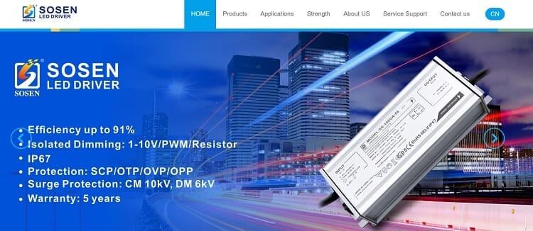 47. Shenzhen SOSEN Electronics Co Ltd