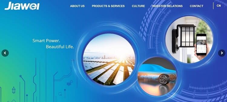 49. Jiawei Renewable Energy Co., Ltd