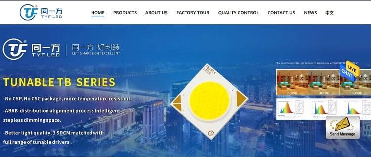 59. Shenzhen TongYiFang (TYF) Optoelectronic Technology Co