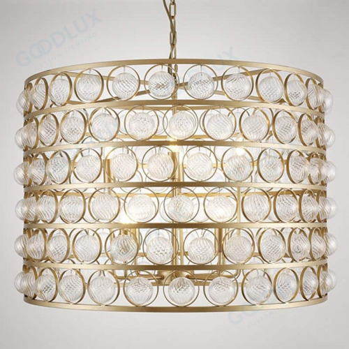 8-light chandelier in gold finish GP3595-8