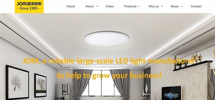 80.Foshan Jom Time lighting co.,ltd