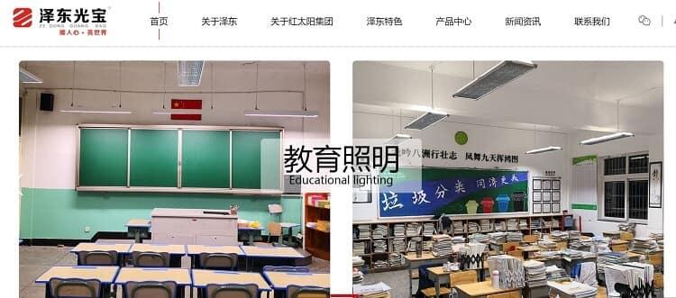 96. Zhongshan Zedong Lighting Co., Ltd