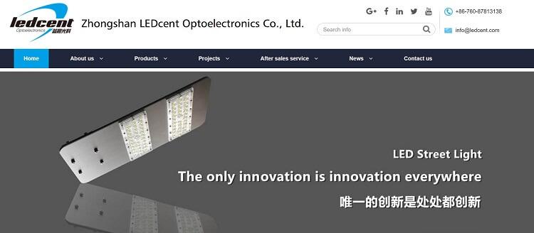 97. Zhongshan LEDcent Optoelectronics Co.,LTD