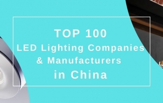 LED lighting companies and manufacturers in China