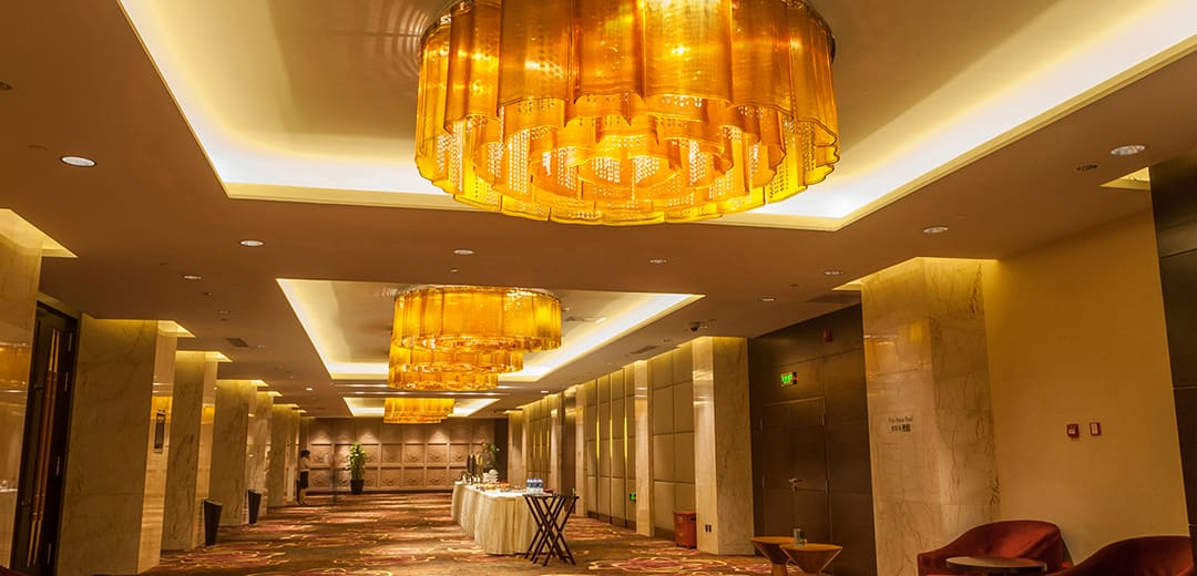 Hotel Hallway Lighting