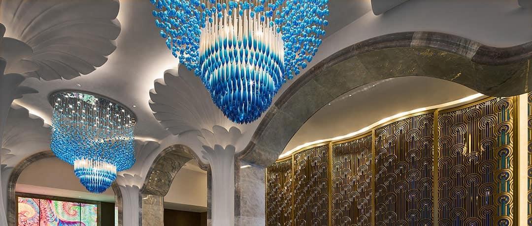 Hotel Lighting for lobby area