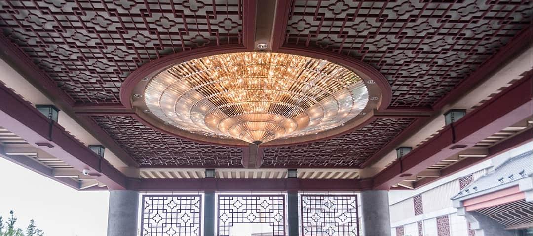 Hotel lighting for Lobby Entrance