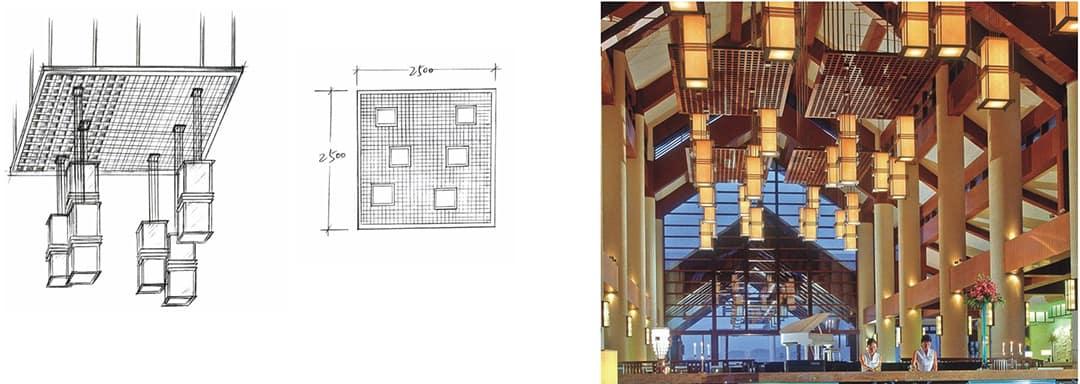 Hotel lighting, from design idea to final installation